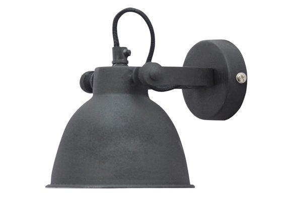 Wandlampje Dust Vintage Black