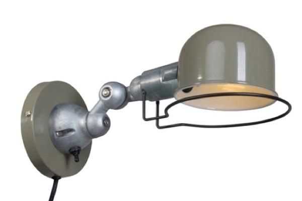 Stoere wandlamp Johnny