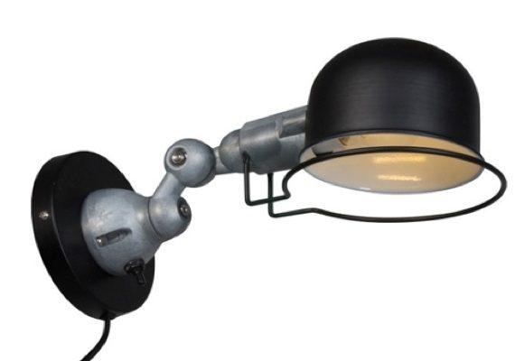Stoere wandlamp Johhny