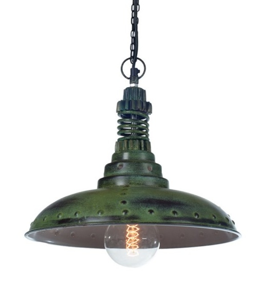 Fabriekslamp Factoria No. 1 Groen