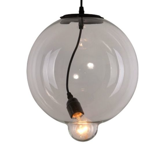 Hanglamp Glass Bubble Clear