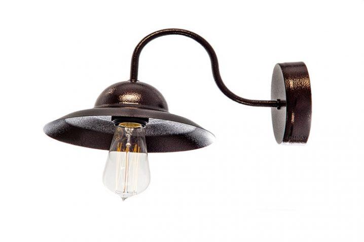 Stoere wandlamp Low Loft