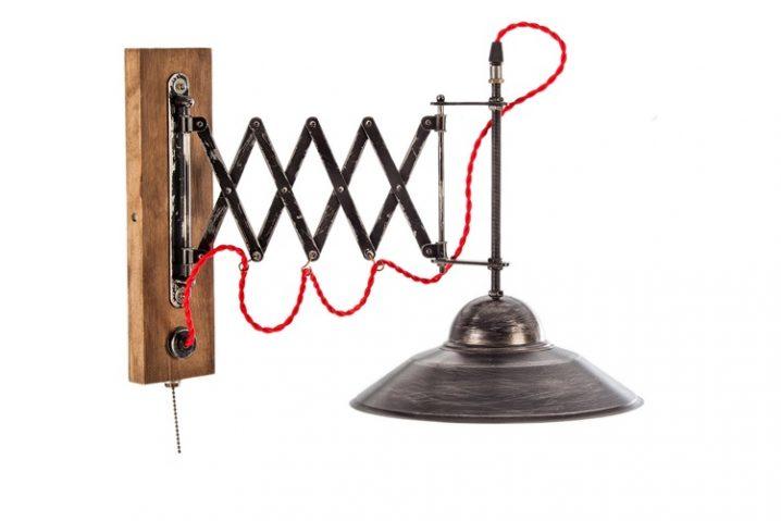 Loft wandlamp Mokotov