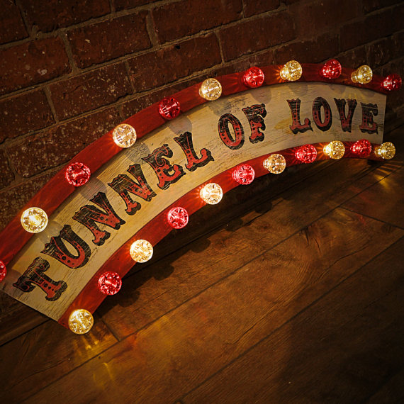 Lightbox Tunnel of Love