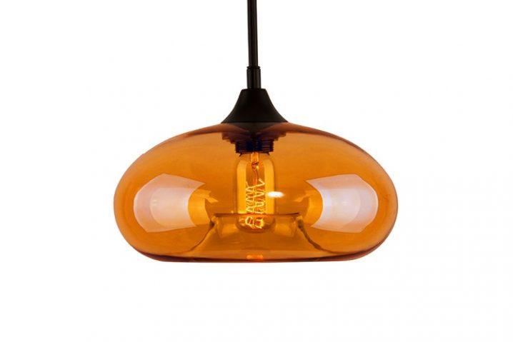 Edison Glass 03 Amber Intense
