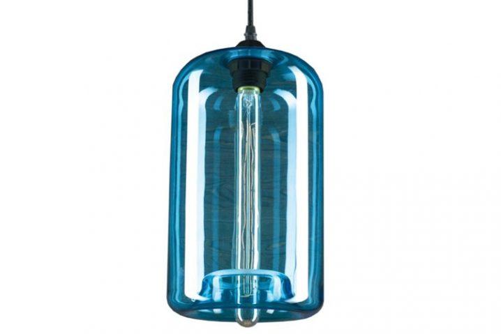 Edison Glass 04 Blue