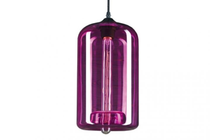 Edison Glass 04 Purple