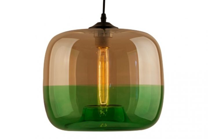 Edison Glass 05 Amber Green