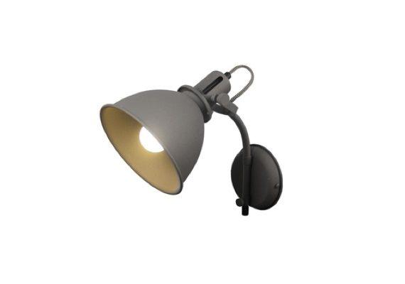 Wandlamp Spot Grijs