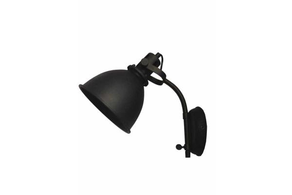 Wandlamp Spot Zwart