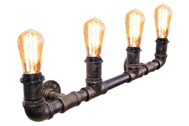 Vintage Edison Wall Light