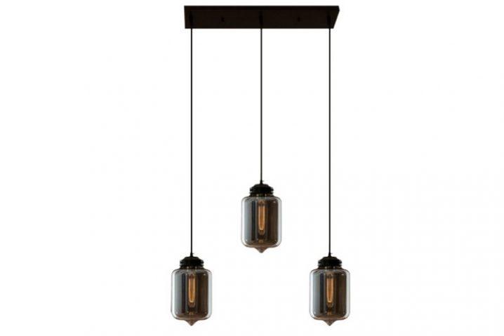 Edison Glass Chandelier