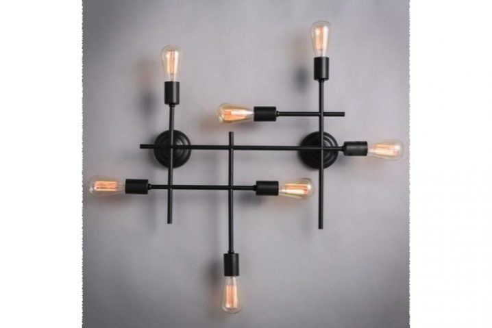 Stoere wandlamp Installation