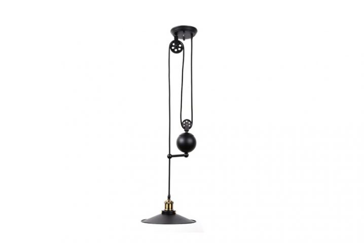 Hanglamp Loft Pulley