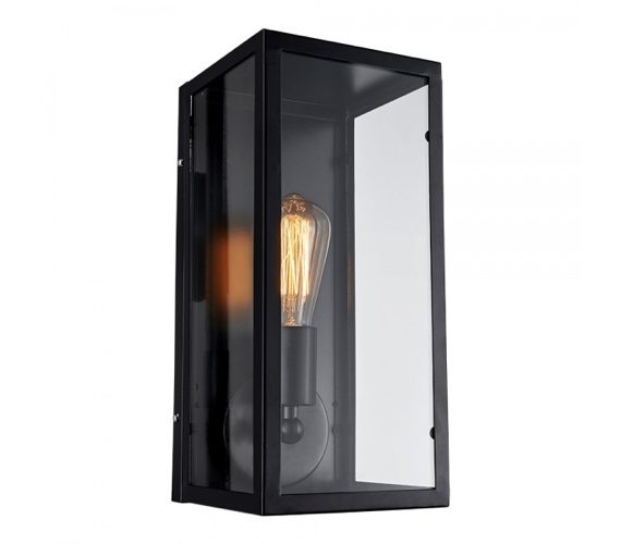 Wandlamp Metal Square