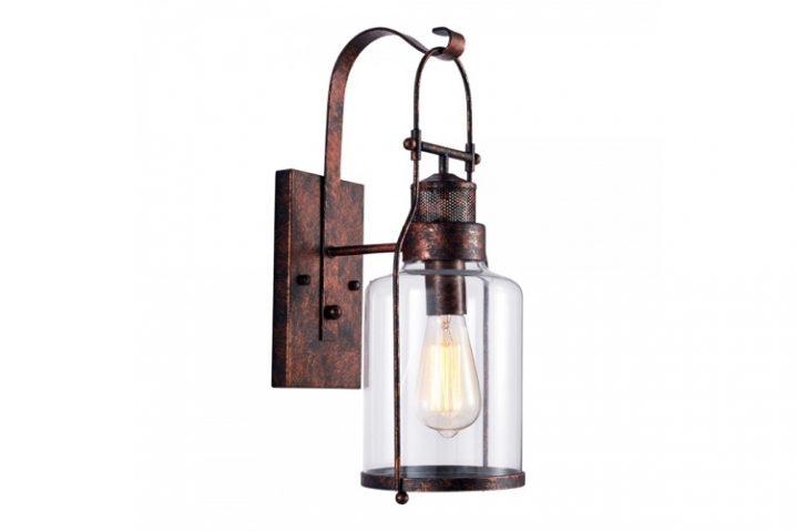 Vintage wandlamp Nox