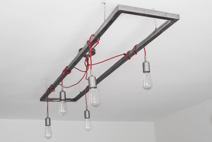 Upcycled hanglamp