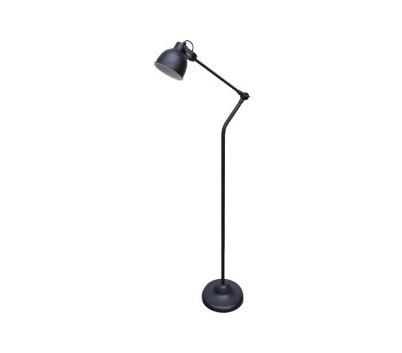 Vloerlamp Industrial Vintage Black