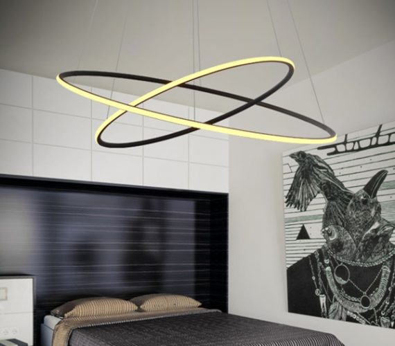 LED Ring hanglamp No 23