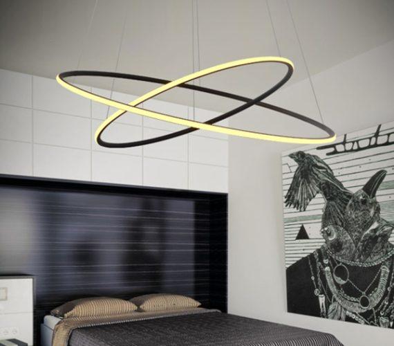 LED Ring hanglamp No 23