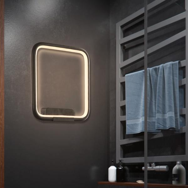 LED Wandlamp Quadrat
