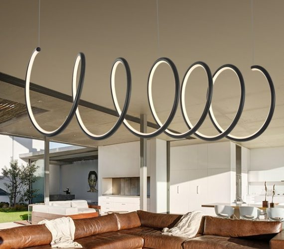 LED Ring hanglamp Spiral