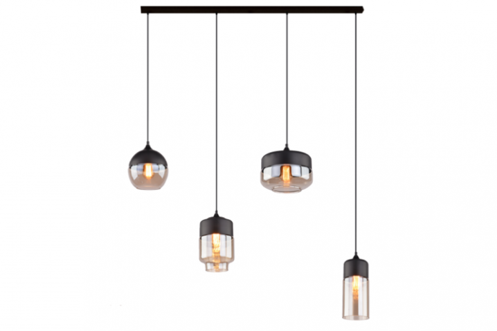 Glazen hanglamp Nova Chandelier 3
