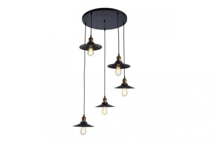 Stoere hanglamp Scoop
