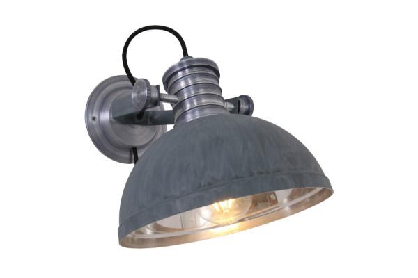 Wandlamp Brooks Grijs