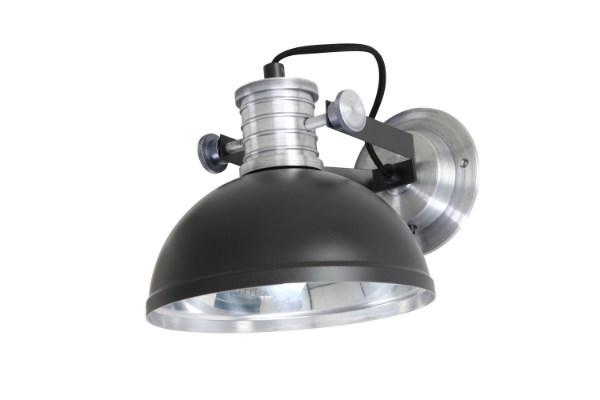 Wandlamp Brooks Zwart
