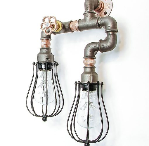Steampunk Lamp 007