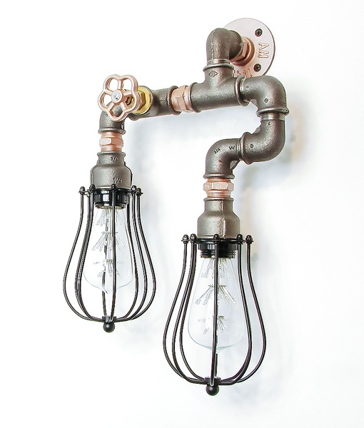 Steampunk Lamp 007