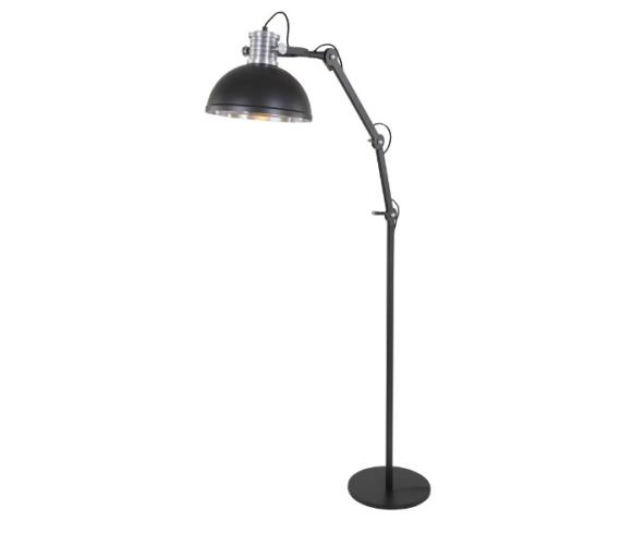 Vloerlamp Brooks Zwart