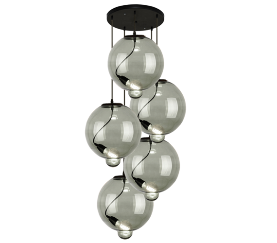 Glass Bubble Chandelier No4