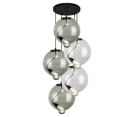Glass Bubble Chandelier No7