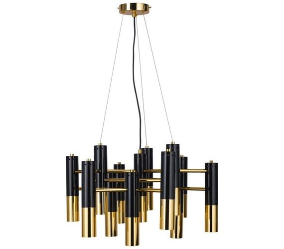 Hanglamp Golden Pipe