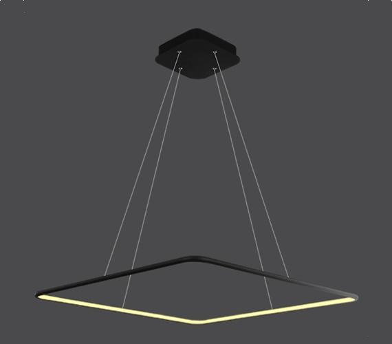LED Ring Quadrat