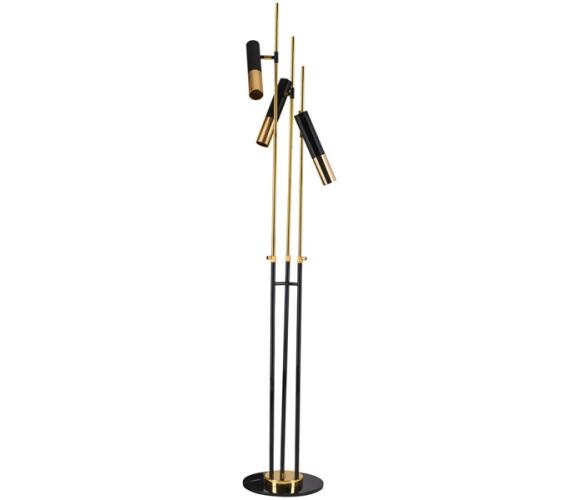 Vloerlamp Golden Pipe