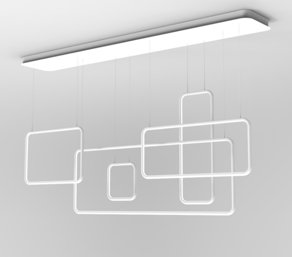 LED Square White