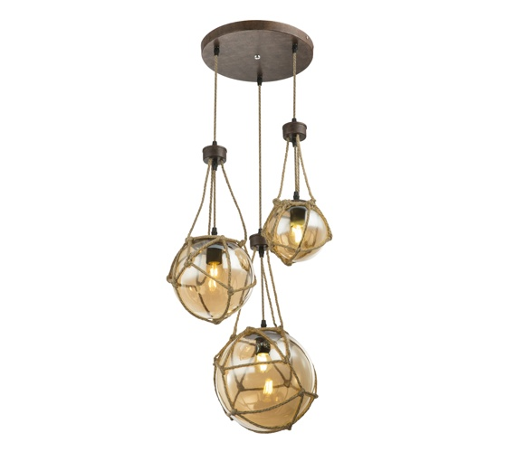 Rustieke hanglamp Tiko