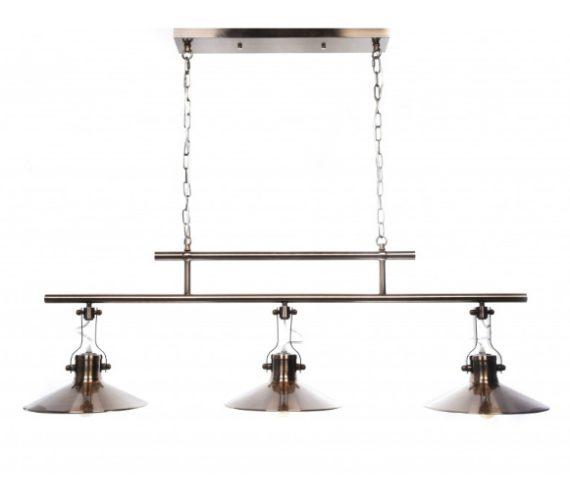 Metalen hanglamp Trio