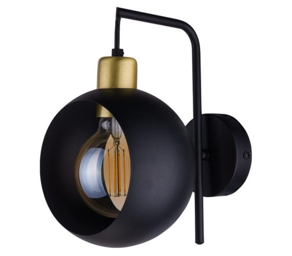 Wandlamp Cyclop Black