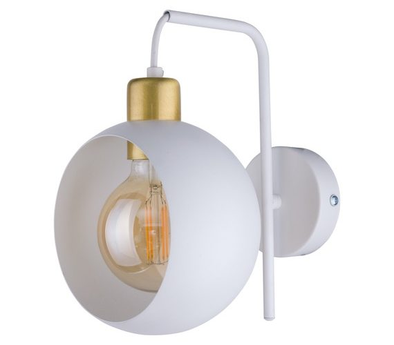 Wandlamp Cyclop White