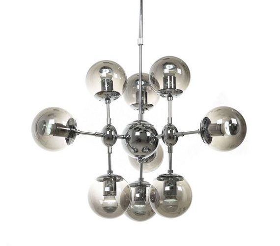 Chromen hanglamp Gala