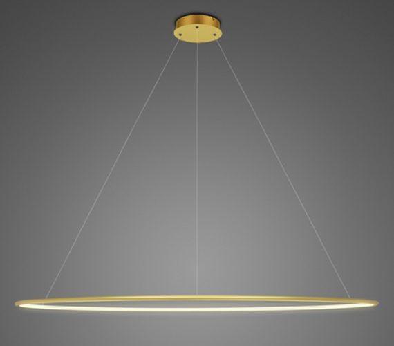 LED Circle Single Inside Rose Gold
