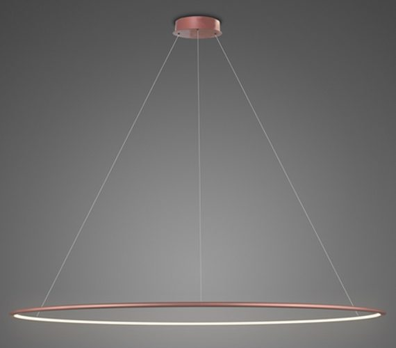 LED Circle Single Inside Rose Gold