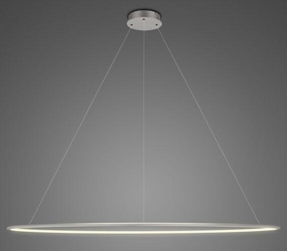 LED Circle Single Inside Silver