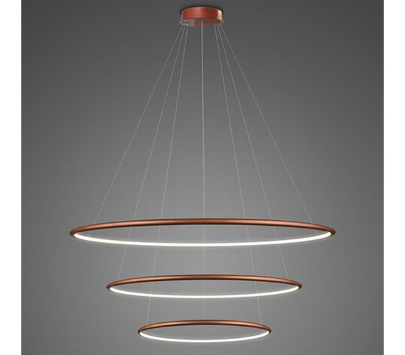 LED Circle Triple Inside Copper