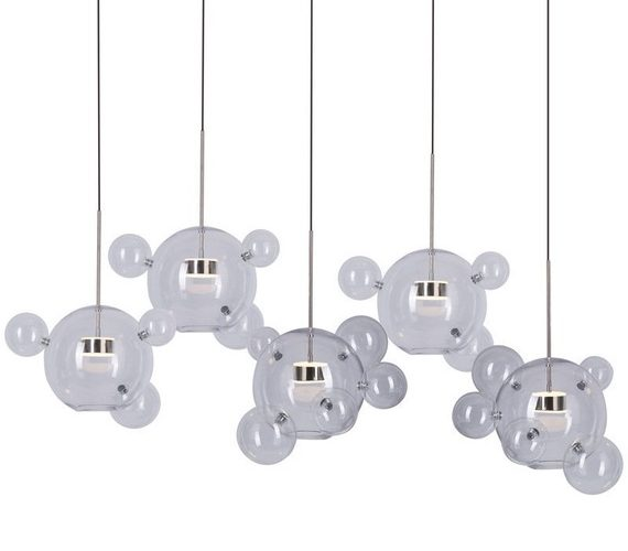 Bubble Chandelier 24 Chrome