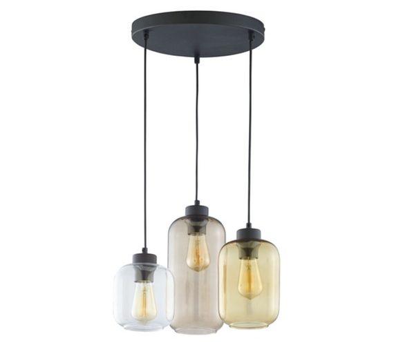 Glazen hanglamp Marko No.4
